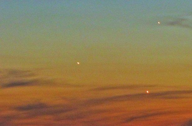 همنشینی ۳ سیاره در آسمان در طول یک هفته آینده