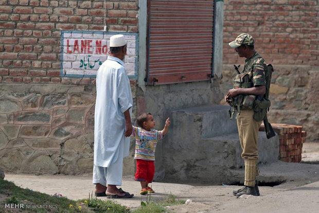 درگیری ها در کشمیر