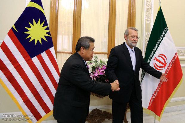 دیدار روسای مجلس ایران و مالزی 2183683