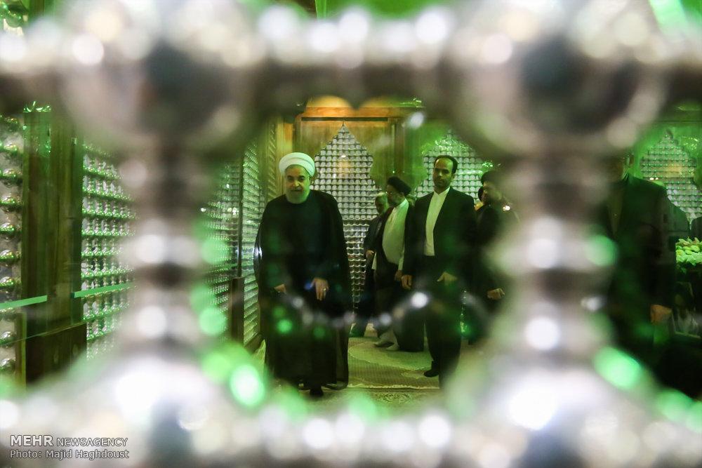 تجدید میثاق اعضای هیات دولت با آرمان های امام خمینی (ره)