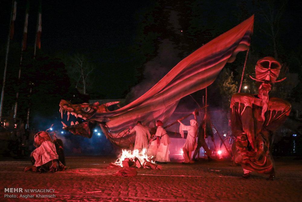 شانزدهمین جشنواره بین المللی عروسکی تهران