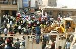 تصاویر انفجار گاز شهری در اهواز با ۶ کشته