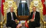 مذاکرات «بایدن» و «اردوغان» پشت درهای بسته آغاز شد