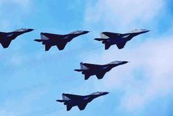 نخستین حضور جنگنده های سوخو ۲۲ سپاه برفراز خلیج فارس