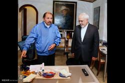 Zarif meets with Nicaraguan president