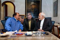 مشاهد من لقاء وزير الخارجية الايراني برئيس جمهورية نيكاراغوا