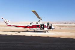 افتتاح پایگاه امداد هوایی هلال احمر سرخه