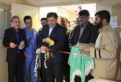 بخش مراقبتهای ویژه نوزادان بیمارستان شهید گنجی برازجان افتتاح شد