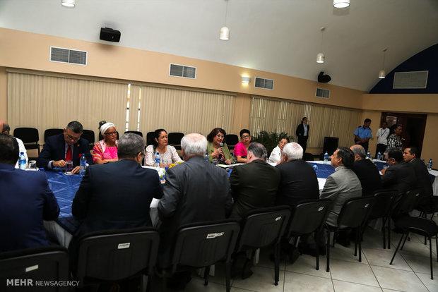 Zarif visits National Assembly of Nicaragua