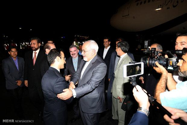 Zarif arrives in Nicaragua