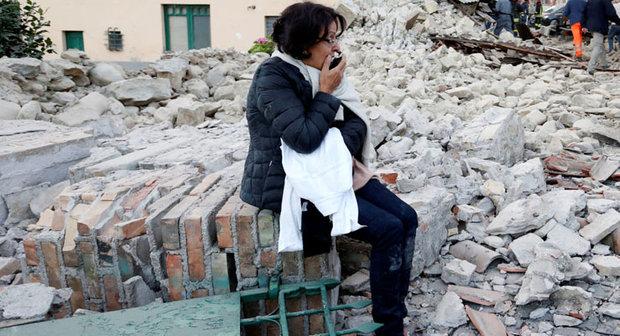 مقتل 6 أشخاص في زلزال بقوة 6،7 ضرب إيطاليا في حصيلة أولية