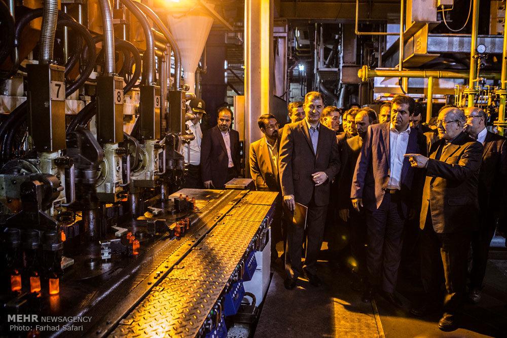 سفر وزیر صنعت، معدن و تجارت به تاکستان