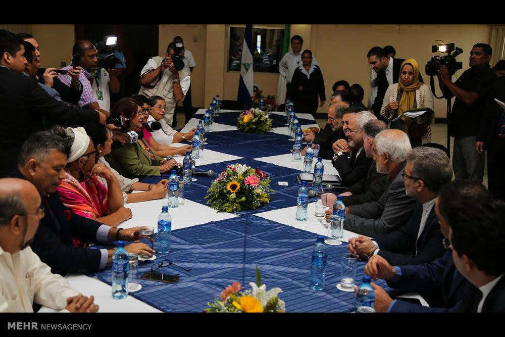 حضور وزیر امورخارجه در مجلس ملی نیکاراگوئه