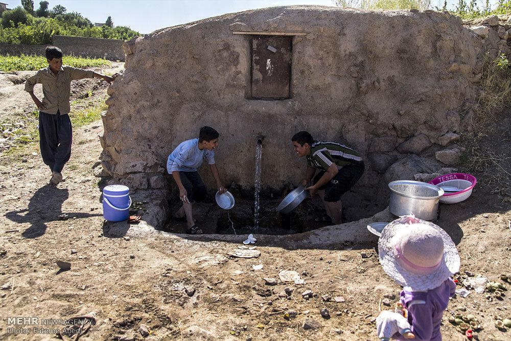 اردوی جهادی بسیج سازندگی در روستای چلسبان شهرستان زرندیه