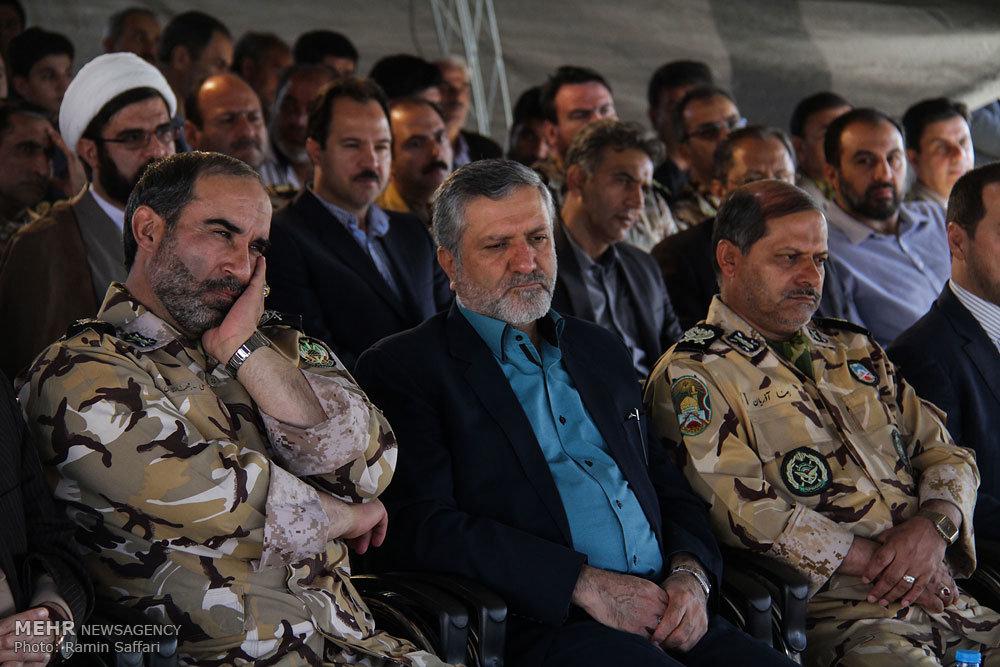 بهره برداری از مرحله سوم بلوار نماز و شهدای ارتش مشهد