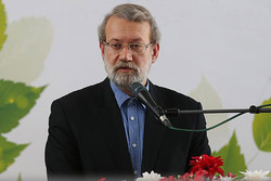 Economic pressures defeatable, says Larijani