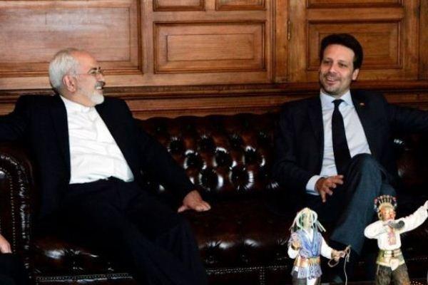 وزرای خارجه ایران و اکوادور