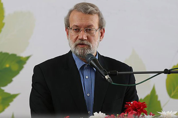 Economic pressures defeatable, says Larijani