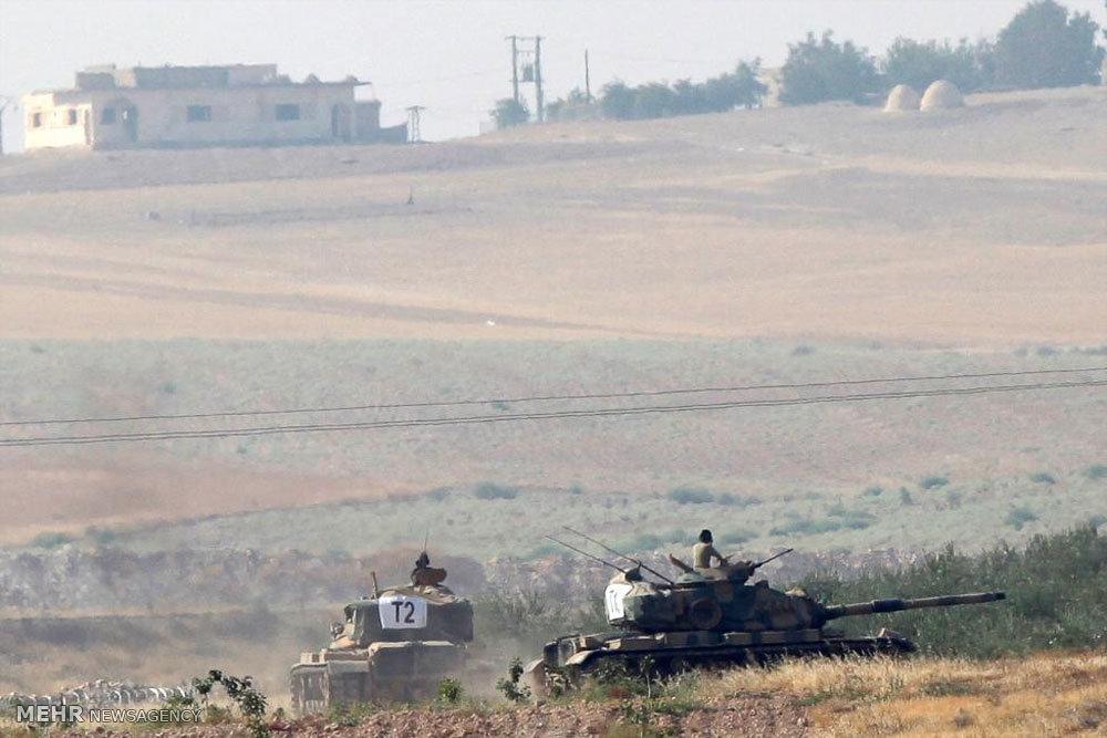 تجاوز ترکیه به خاک سوریه