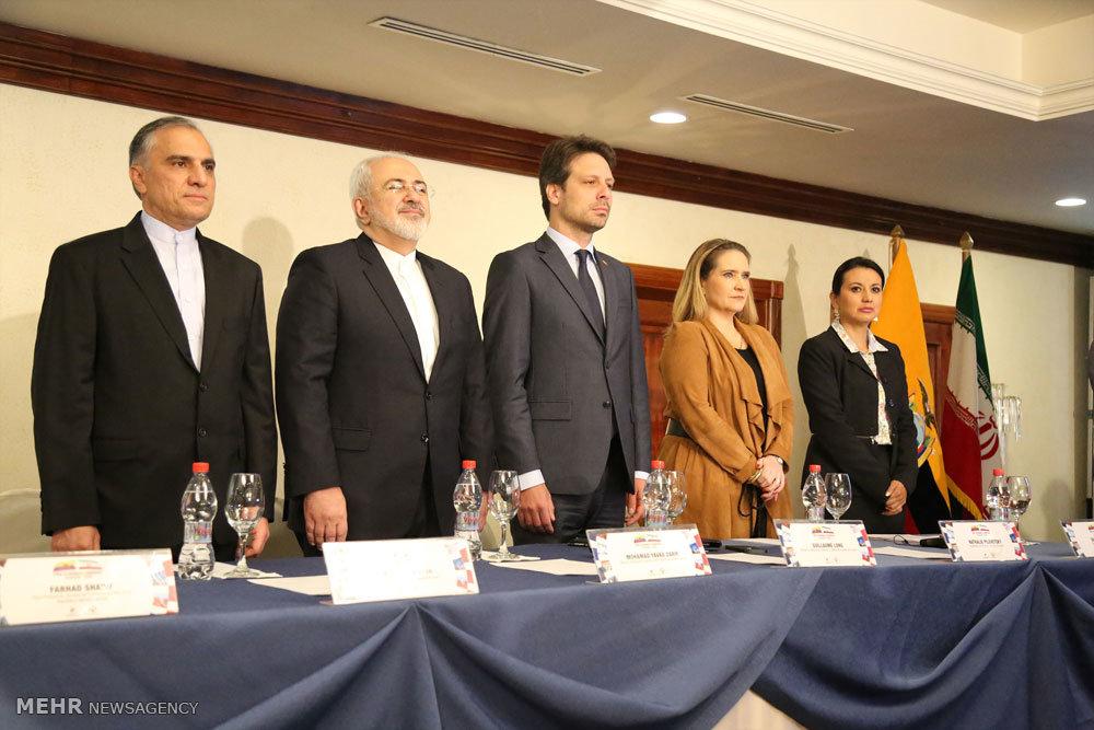 نشست اقتصادی مشترک ایران و اکوادور