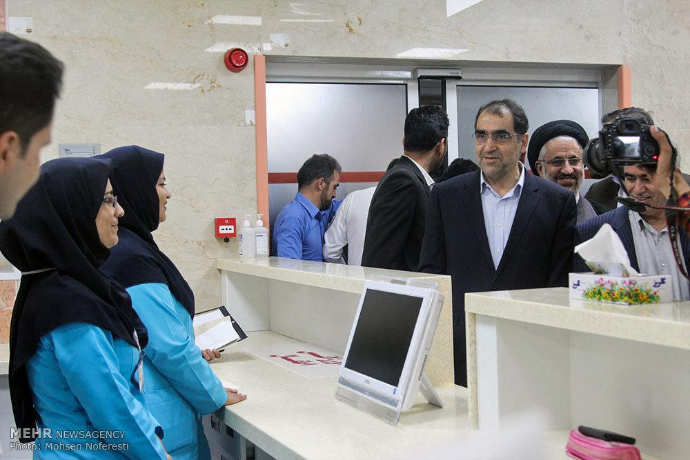 سفر وزیر وزیر بهداشت، درمان و آموزش پزشکی به خراسان جنوبی