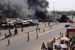 انفجار تروریستی در بغداد/ ۲۷ نفر کشته و زخمی شدند