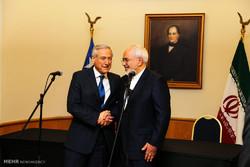 دیدار محمد جواد ظریف وزیر امور خارجه با هرالدو مونیوس وزیر امور خارجه شیلی