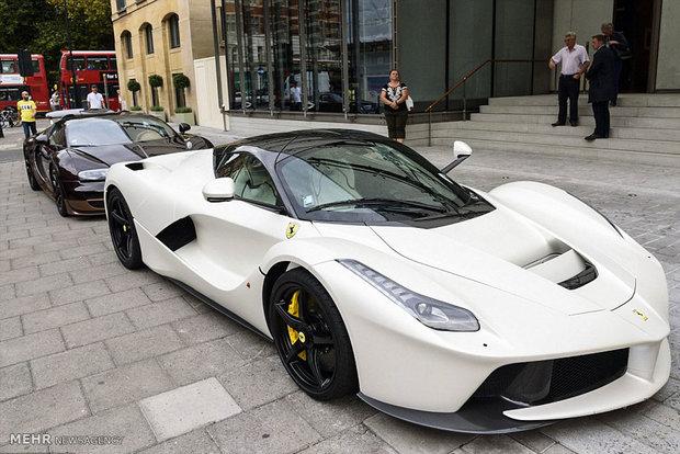 خودروهای لوکس خودرو سوپر اسپرت خانواده پادشاه قطر پادشاه قطر امیر قطر اخبار قطر