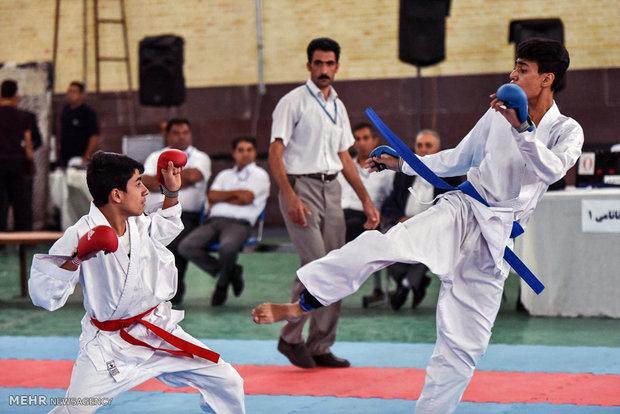کاراته کاهای ایران ۱۱ مدال کسب کردند