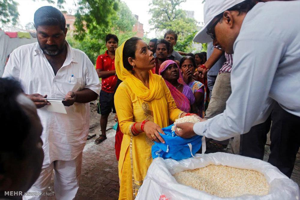 سیل در هند