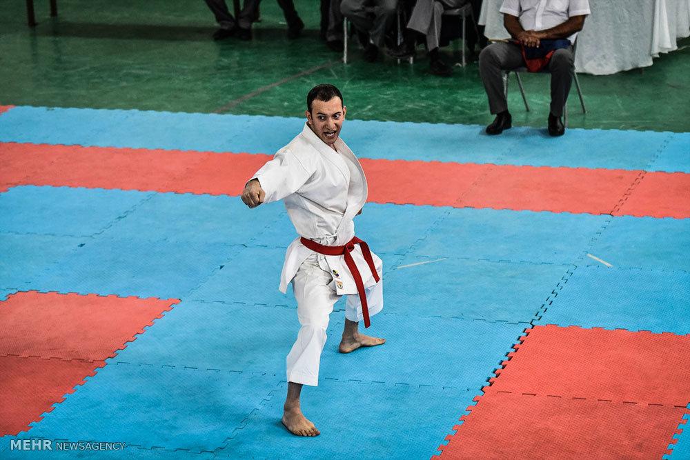 مسابقات کاراته قهرمانی کشور سبک شیتوریو در شیراز