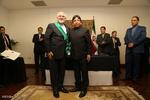 اهدای عالیترین نشان دولت بولیوی به محمد جواد ظریف وزیر امور خارجه