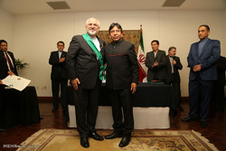 Bolivia's highest state medal granted to Zarif