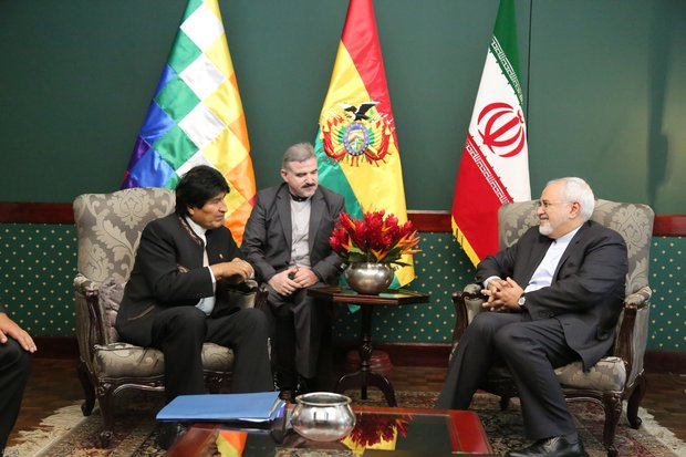 Bolivia welcomes wider trade ties with Iran