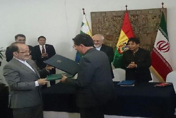 Iran, Bolivia sign MoU on space coop.