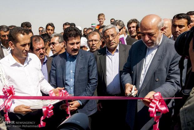 سفر حمید چیت چیان وزیر نیرو به آذربایجان غربی