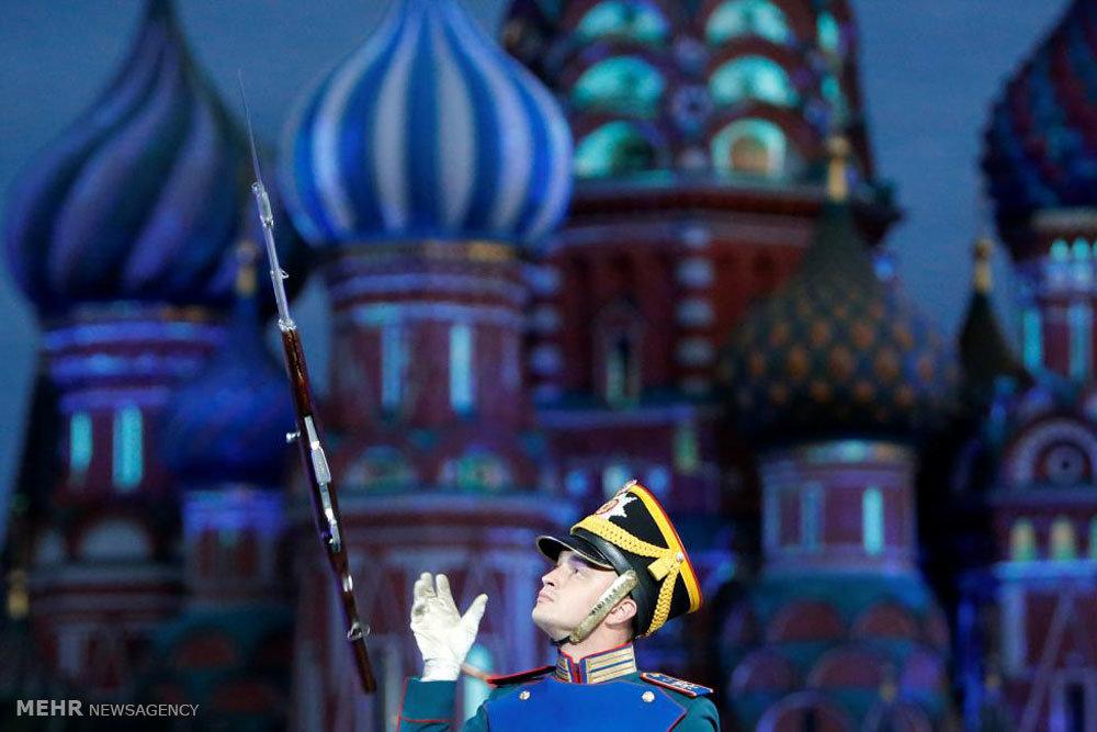 جشنواره موزیک های نظامی در مسکو