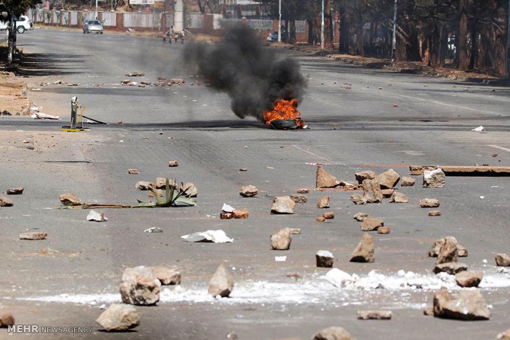 تظاهرات ضد دولتی در زیمبابوه