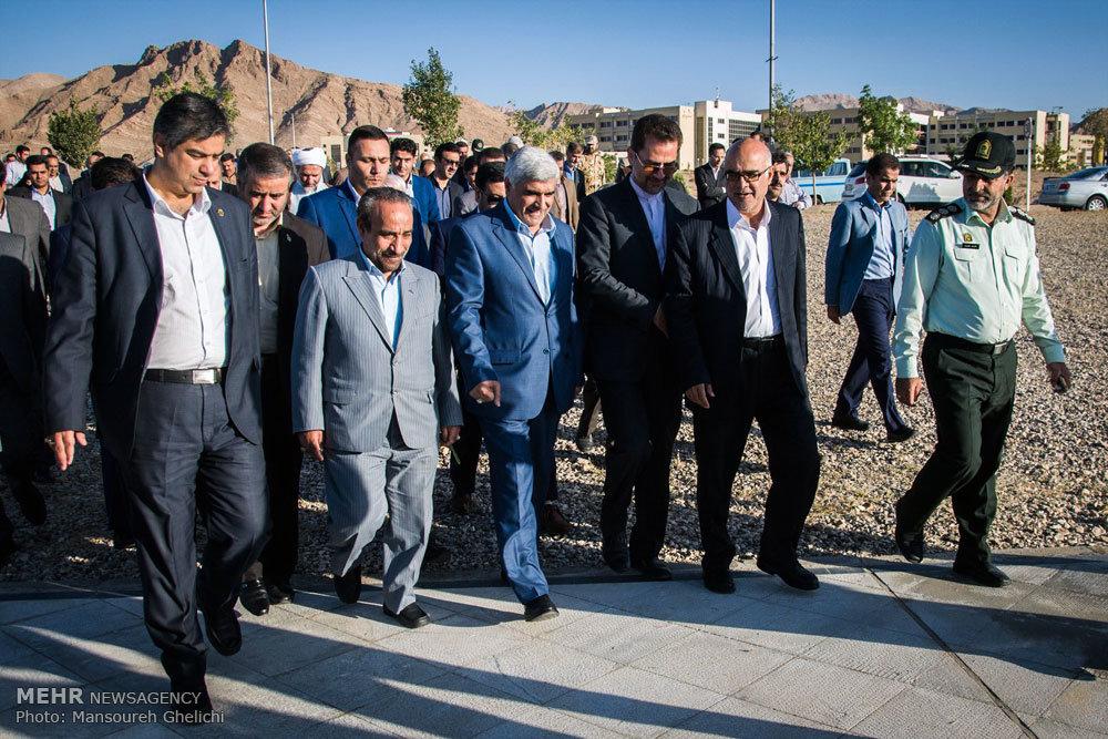 سفر وزیر علوم، تحقیقات و فناوری به شاهرود