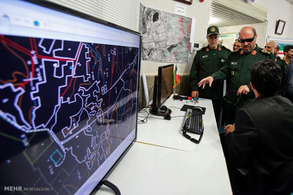 بهره برداری از 7 طرح مهم در حوزه جغرافیایی دفاعی