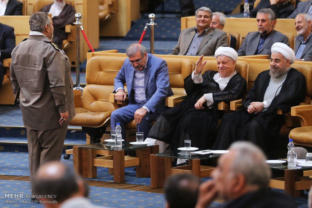 نشست دولت مردان دفاع مقدس