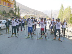 Tehran hosts intl. Roller Skiing event