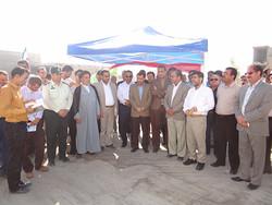سه طرح و پروژه عمران شهری کاکی افتتاح شد