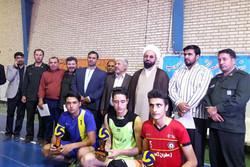تیم والیبال فاروج قهرمان رقابتهای نوجوانان خراسان شمالی شد