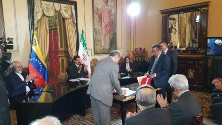 Iran, Venezuela ink banking coop. MoU