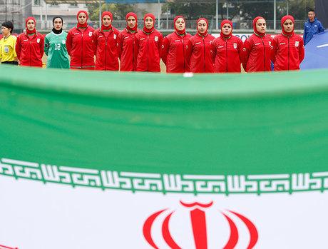 حضور دخترکرمانشاهی درمسابقات مقدماتی فوتبال قهرمانی زیر۱۶سال آسیا