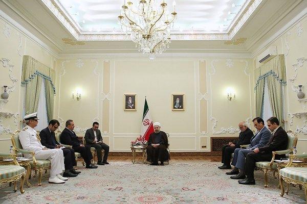 روحاني : ايران وباكستان تشكلان عمقا استراتيجيا لبعضهما البعض