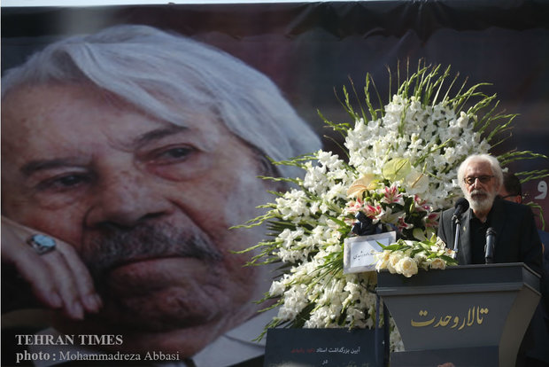 Veteran actor Davud Rashidi's funeral held in Tehran