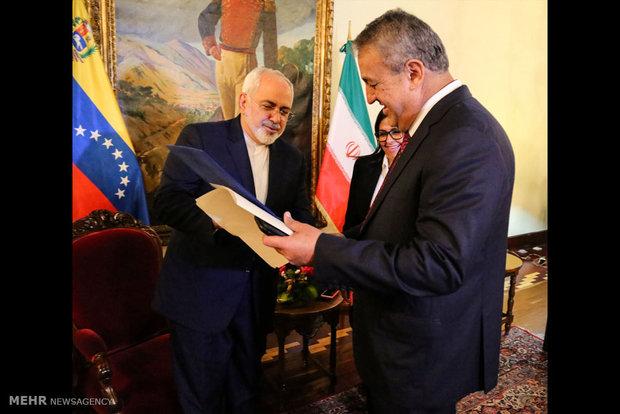سفر محمد جواد ظریف وزیر امور خارجه به ونزوئلا