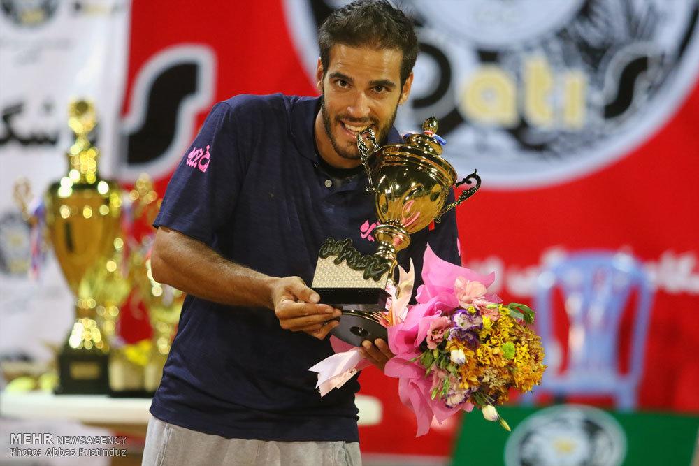 پایان رقابت های تنیس جایزه بزرگ اصفهان